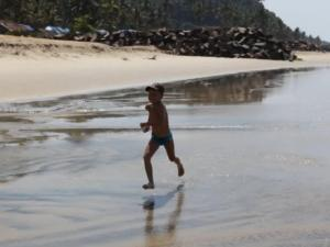 с ребенокм отдых в Индии