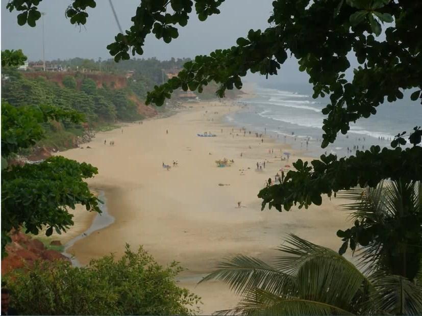 пляжи Варкалы