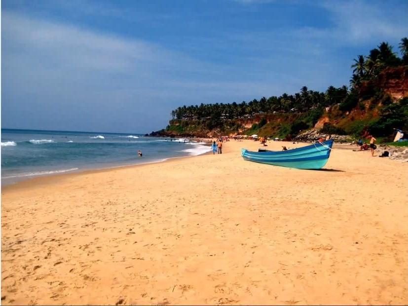морское побережье в Керале