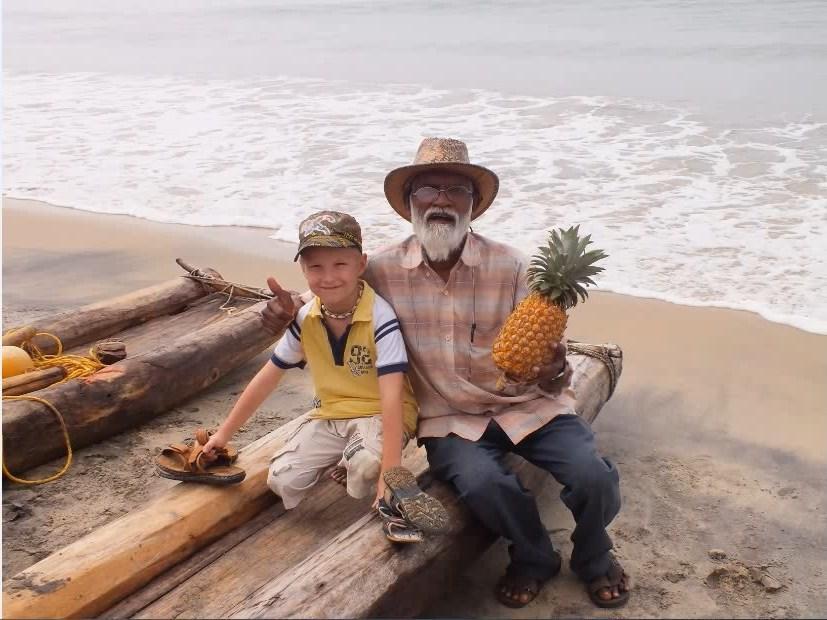 Рыбак и дети
